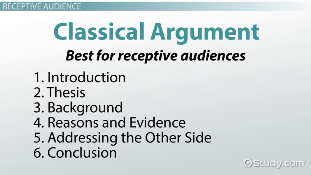 classical argument essay introduction