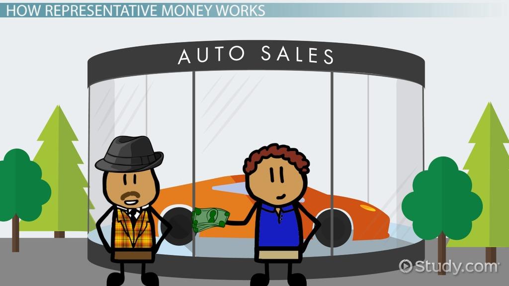 representative money  definition  u0026 overview