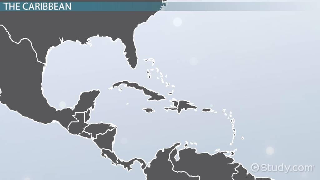 Caribbean Countries Capitals Video Lesson Transcript Studycom