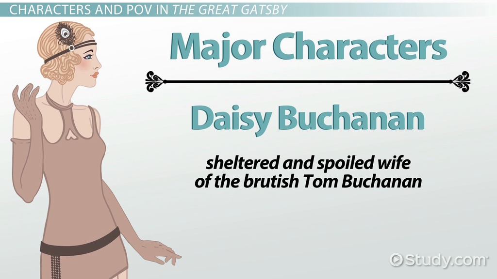 character traits of daisy in the great gatsby