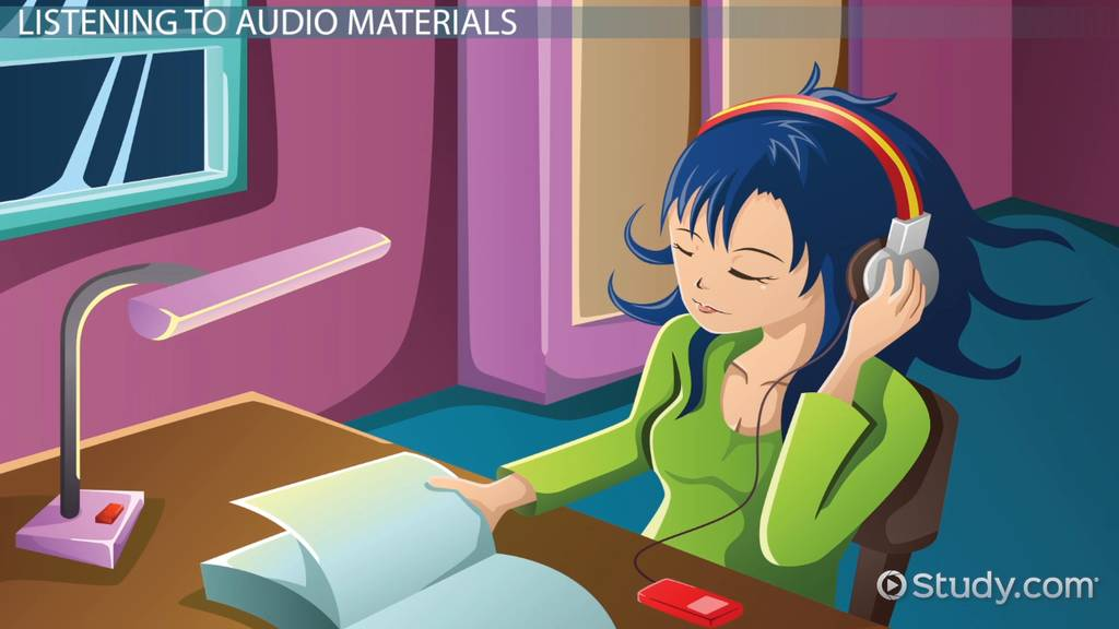 activities for auditory learners