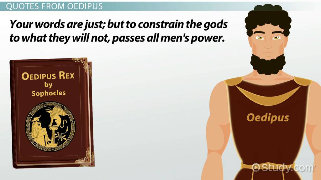 good thesis for the oedipus the king rex