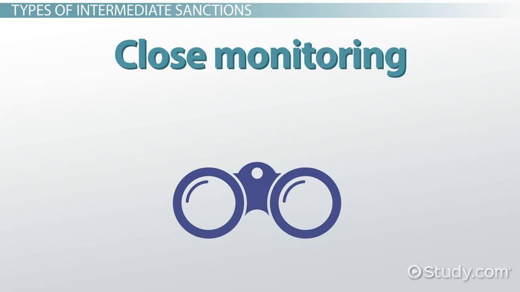 intermediate sanctions  definition  types  pros  u0026 cons