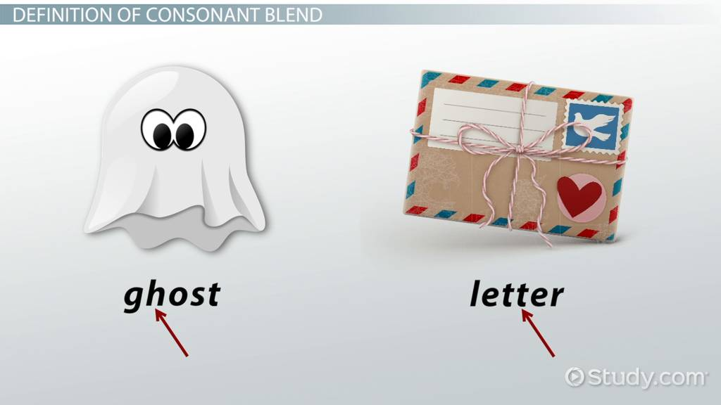 Consonant Blends Definition Examples Video Lesson Transcript
