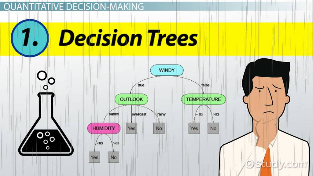 quantitative methods of decision makers Video: quantitative decision making tools: decision trees, payback analysis & simulations successful managers use decision-making tools to analyze a problem and try to determine the best solution for that problem.