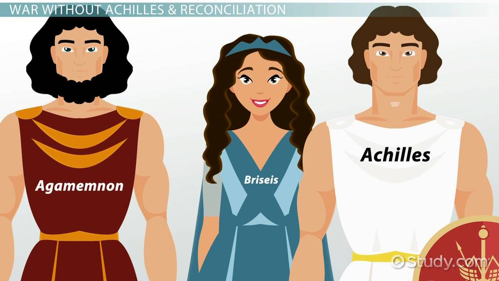 character traits of achilles in the iliad