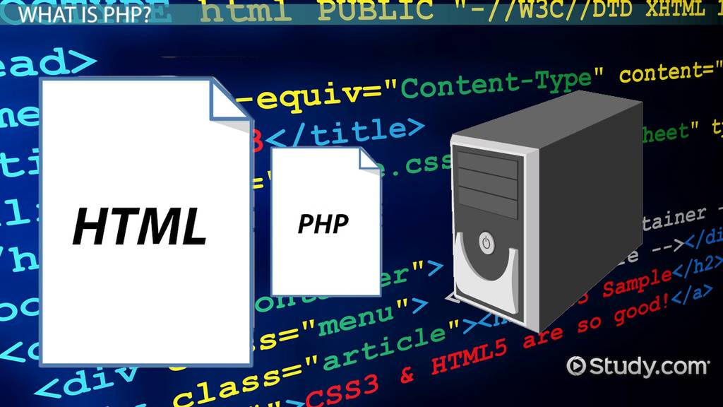 What Is Php Used For Uses Advantages Video Lesson Transcript Study Com