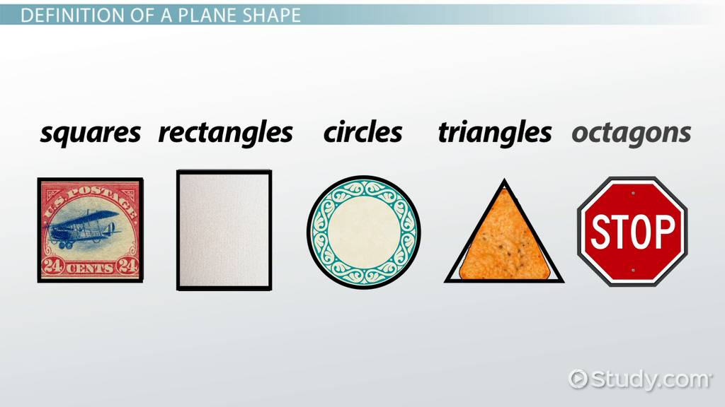 What are Plane Shapes? - Definition & Examples - Video ...