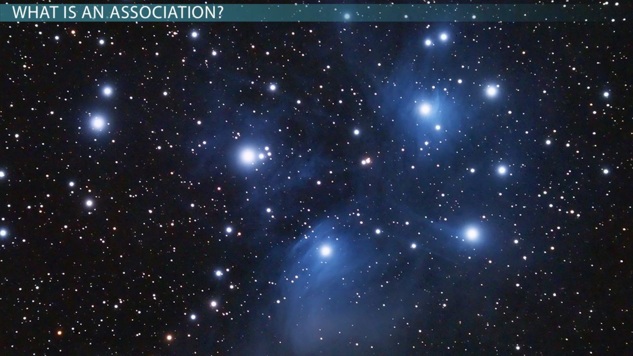 Young Stars Amp Stellar Associations Video Amp Lesson