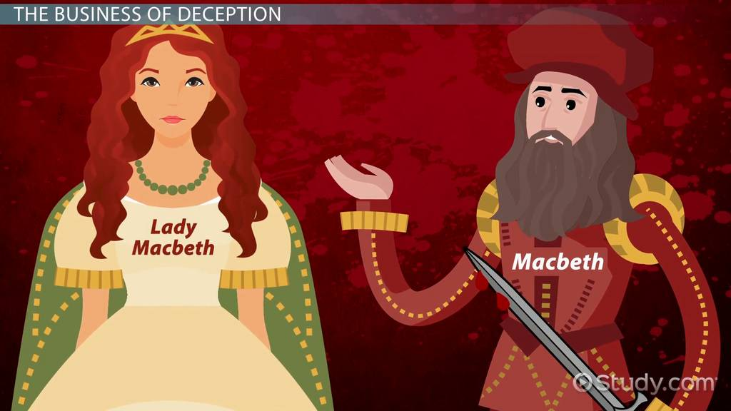contrast between lady macduff and lady macbeth