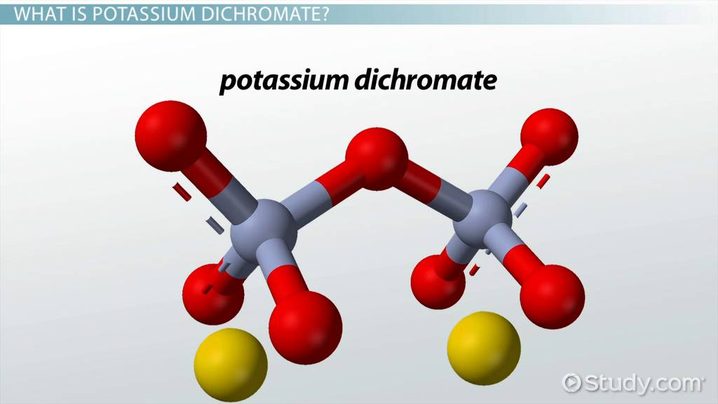 Potassium Dichromate Definition Formula Uses Video Lesson