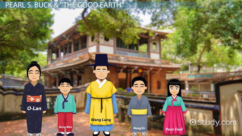 "wang lung the good earth character The good earth: thegoodearth character analysis major events wang lung grows more impatient ""to have done with things and to sit in the latter part of the."