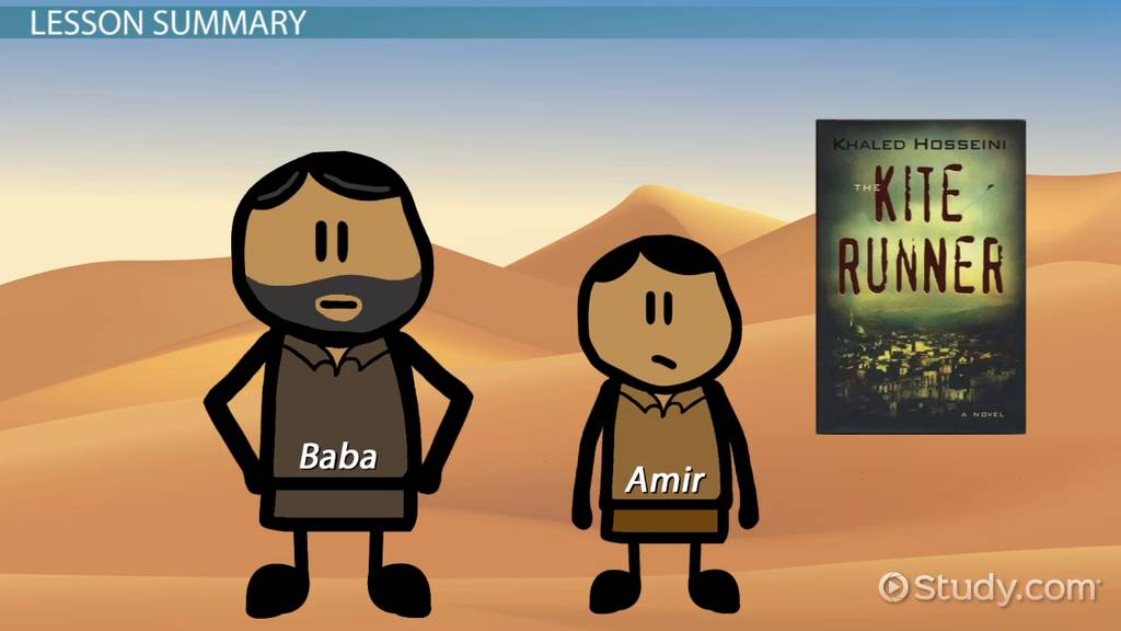 Relationship Between Amir Baba In The Kite Runner Video Lesson