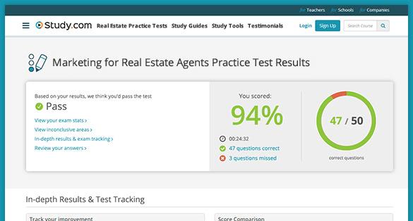 Real Estate Test Study Guides Study Com