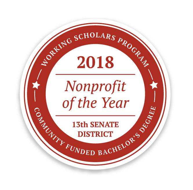 Working Scholars 2018 Non-Profit of the Year