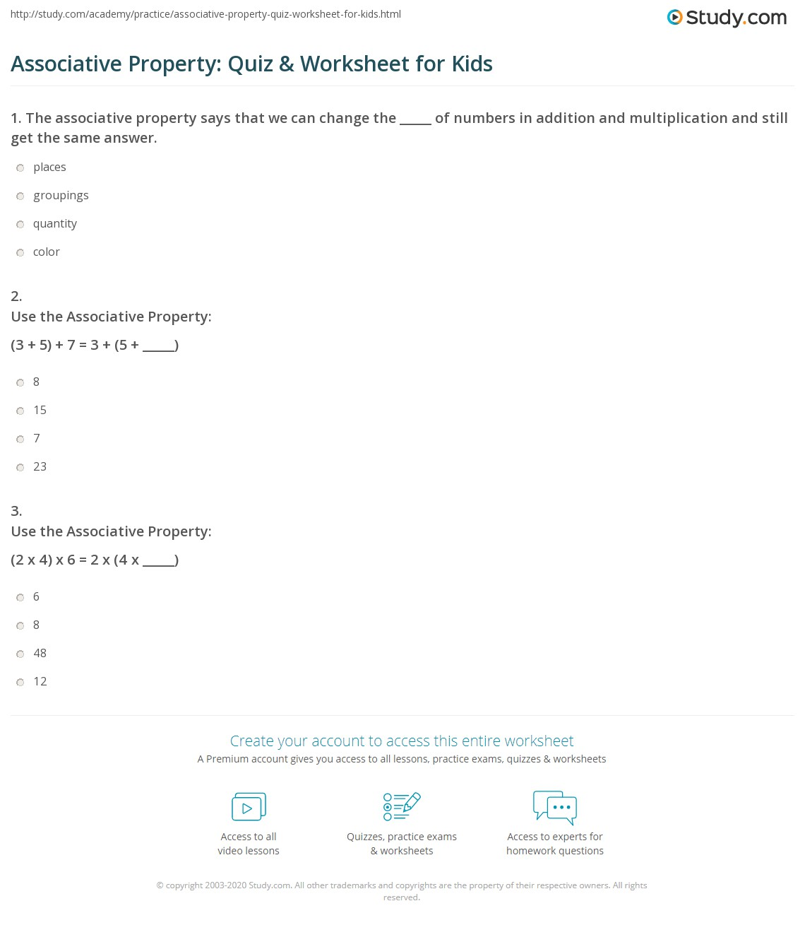 math worksheet : properties of addition worksheets grade 5  free math  : Property Of Multiplication Worksheets