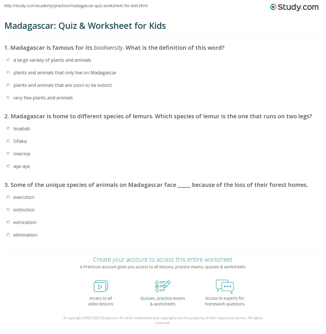 Biodiversity Worksheet For Kids biodiversity worksheets for kids – Bill Nye Biodiversity Worksheet