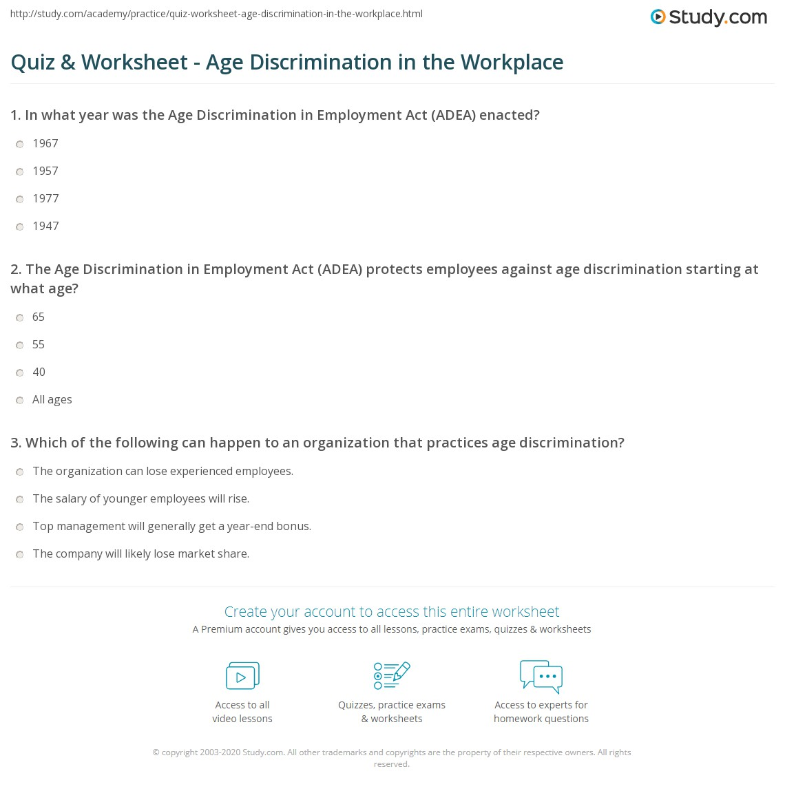 suggestions online images of age discrimination in employment the age discrimination in employment act adea protects employees
