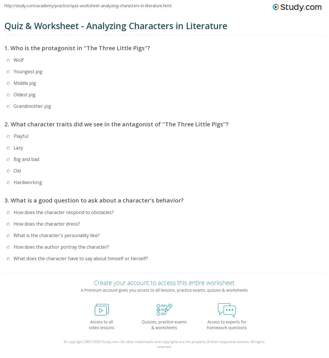 Worksheets. Inferring Character Traits Worksheets Answer ...