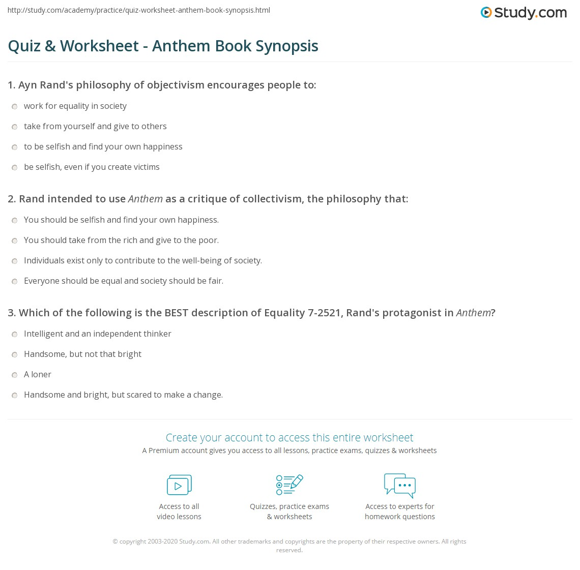 anthem essay 1 Anthem essays: over 180,000 anthem essays, anthem term papers, anthem research paper, book reports 184 990 essays, term and research papers available for unlimited access.
