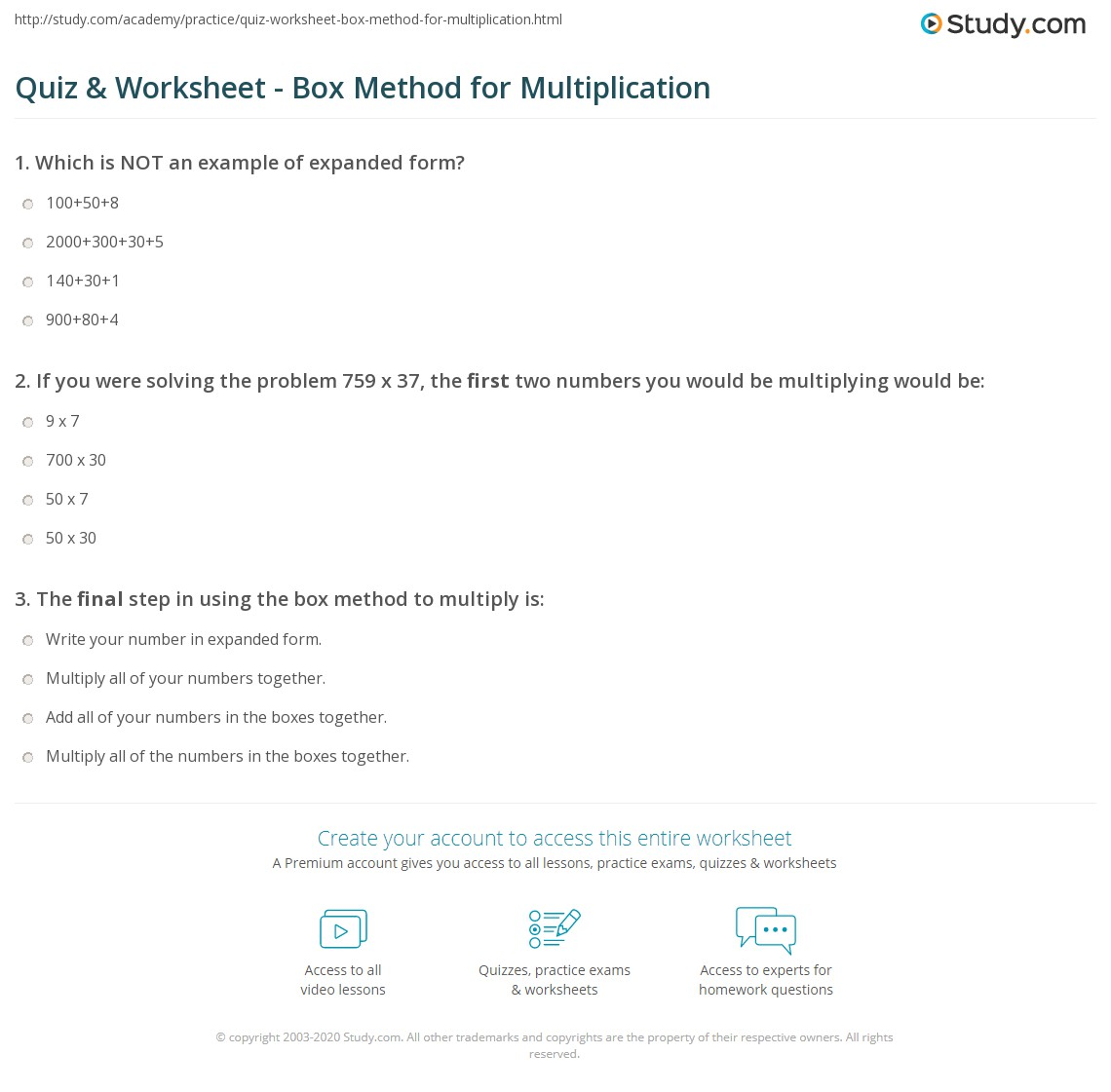 Worksheet 630315 Expanded Algorithm Multiplication Worksheets – Column Method Multiplication Worksheet