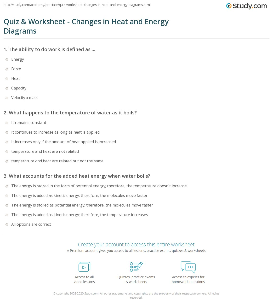 28+ [ Introduction To Energy Worksheet ] | energy being to ...
