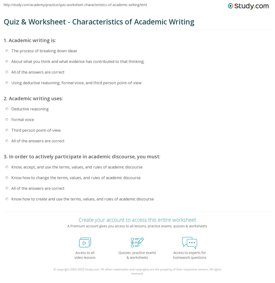 characteristics of college essay Characteristics of a successful essay  college application essay,  writing college essays and personal statements author:.