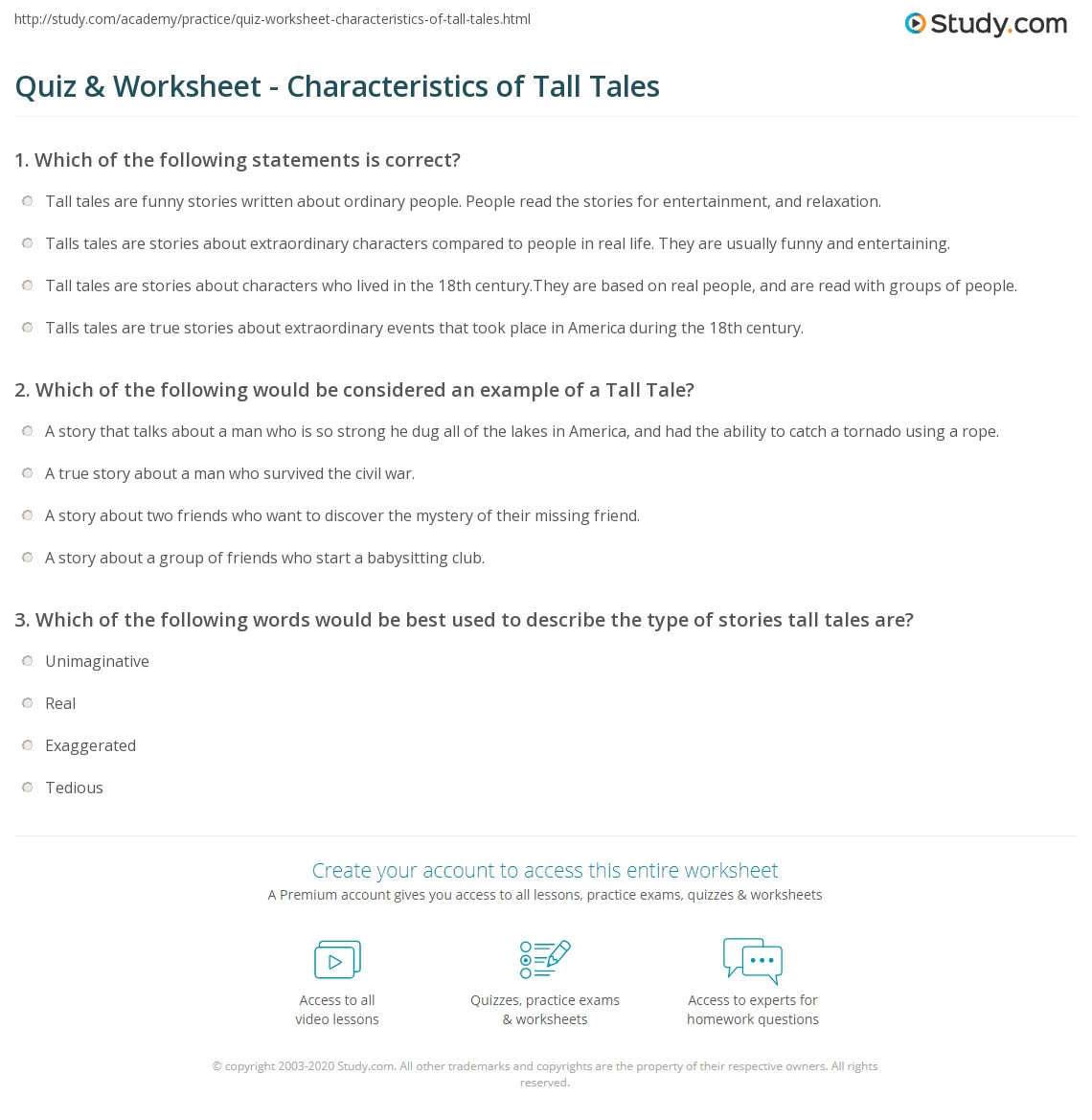 tall tale worksheets free worksheets library download and print worksheets free on comprar. Black Bedroom Furniture Sets. Home Design Ideas