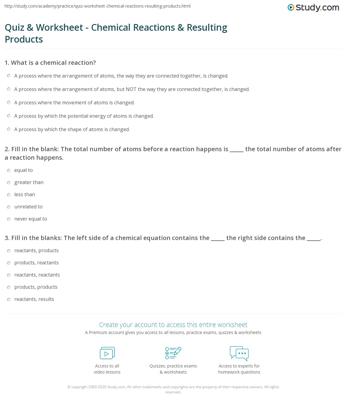 Worksheets Six Types Of Chemical Reaction Worksheet Answers six types of chemical reaction worksheet answers worksheets reactions sharebrowse reaction