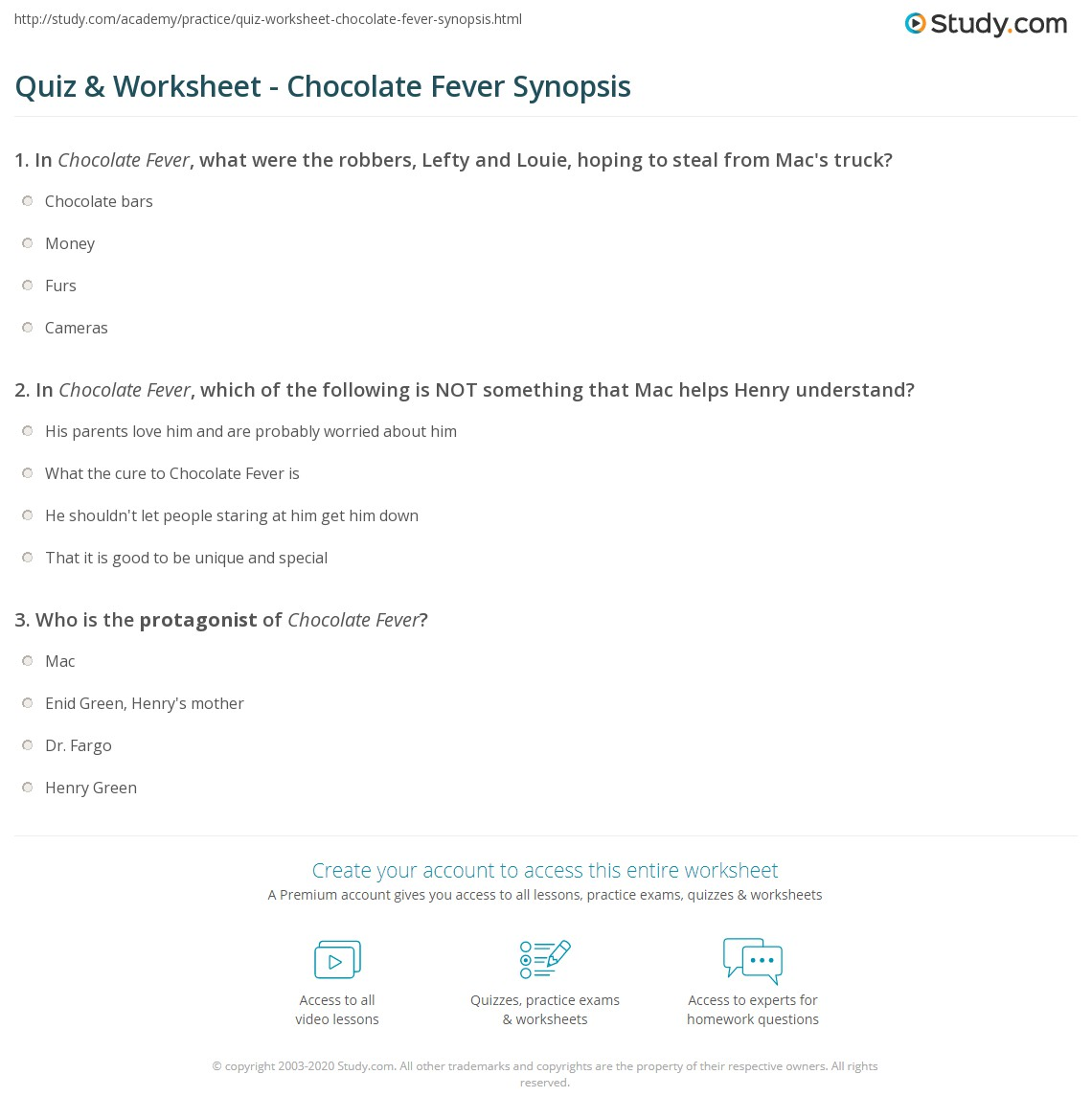 Chocolate Fever Worksheets Worksheets For School - Signaturebymm