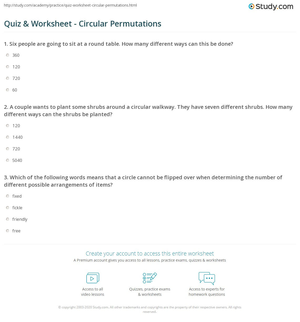 worksheet bloggakuten quiz amp worksheet calculating the probability ...