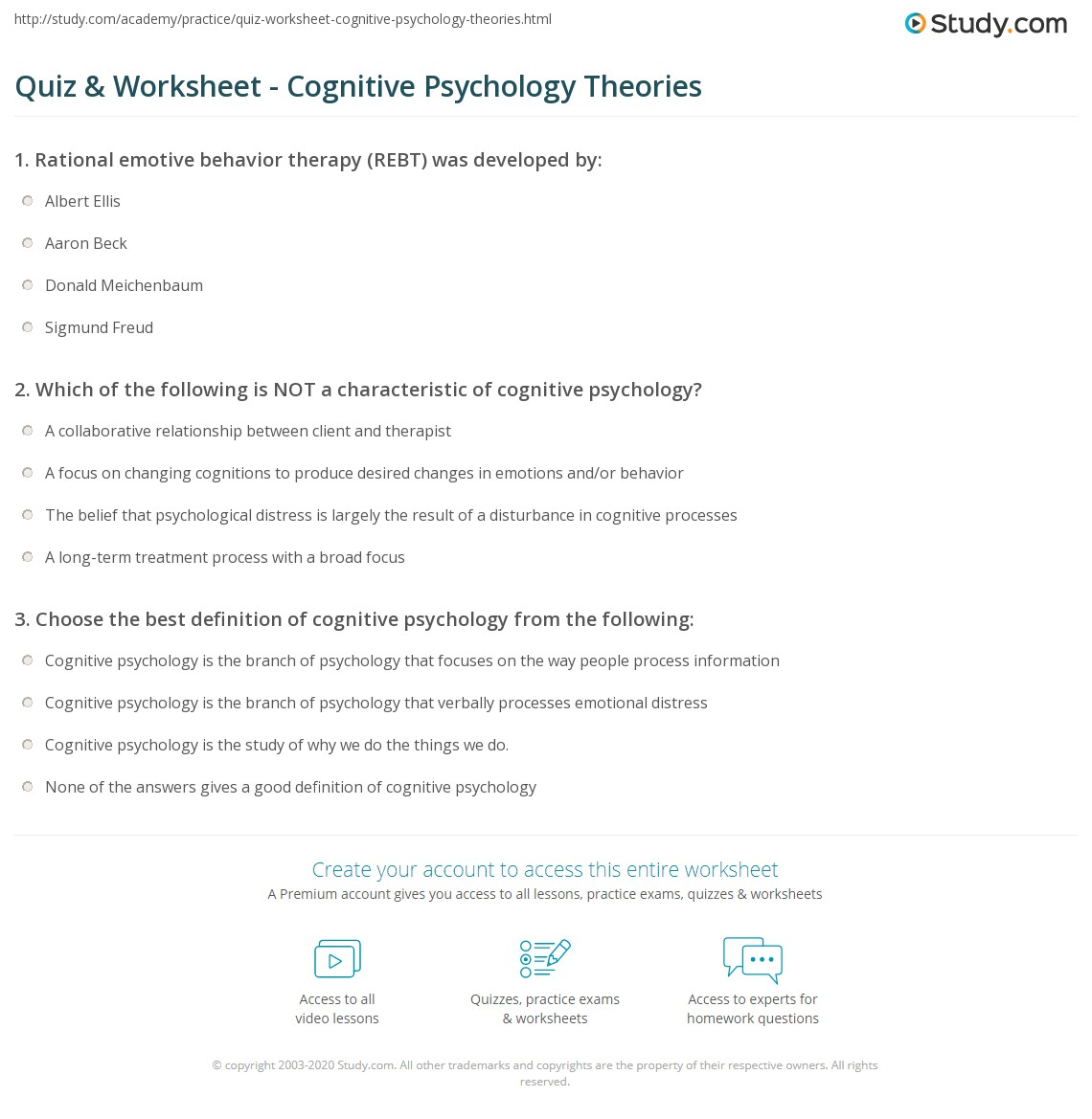 psychology learning theories essay