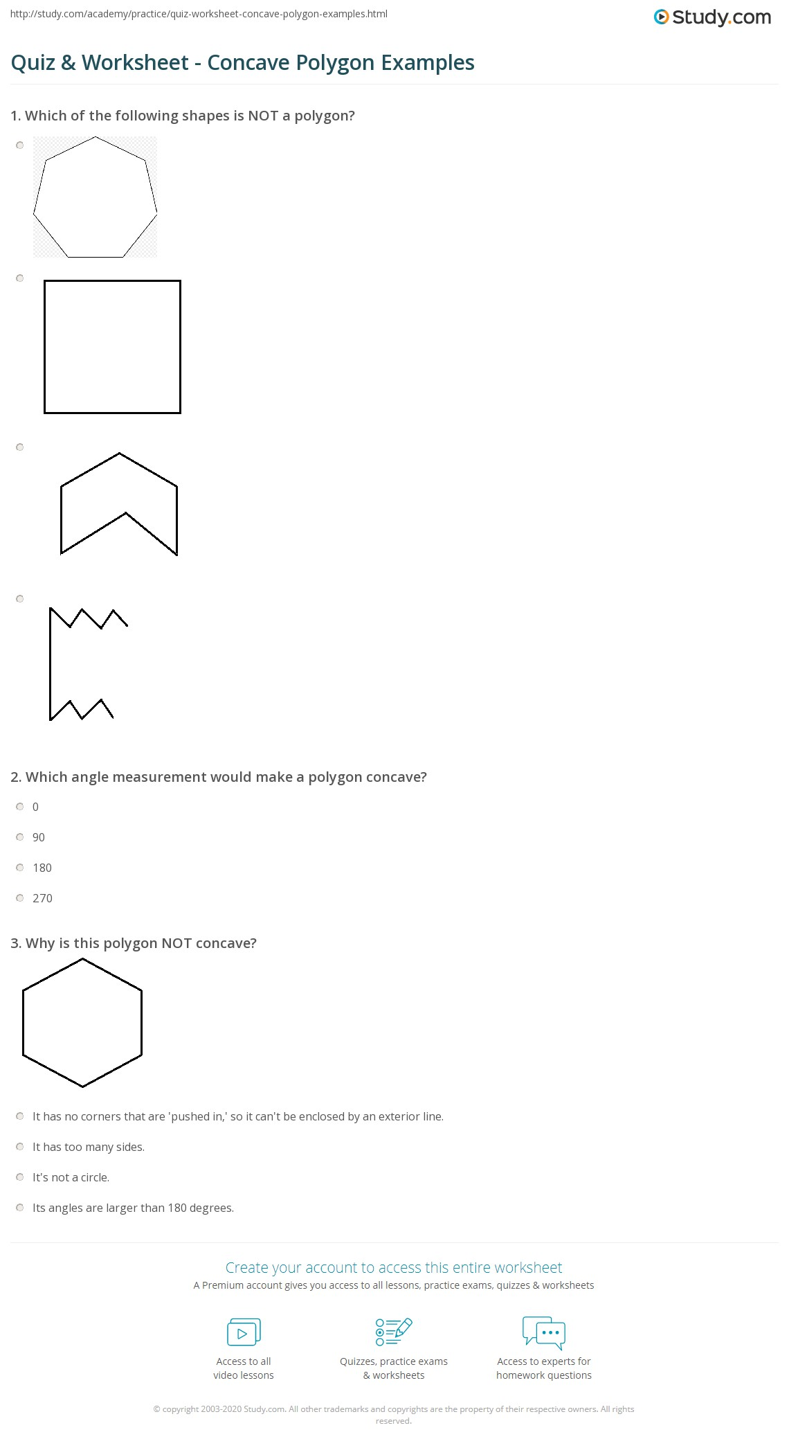 Polygon Pictures Worksheet | Images Guru