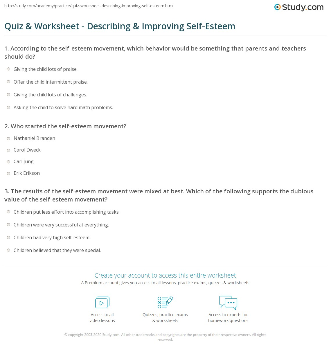 Printables Self Improvement Worksheets self improvement worksheets intrepidpath the best and most prehensive