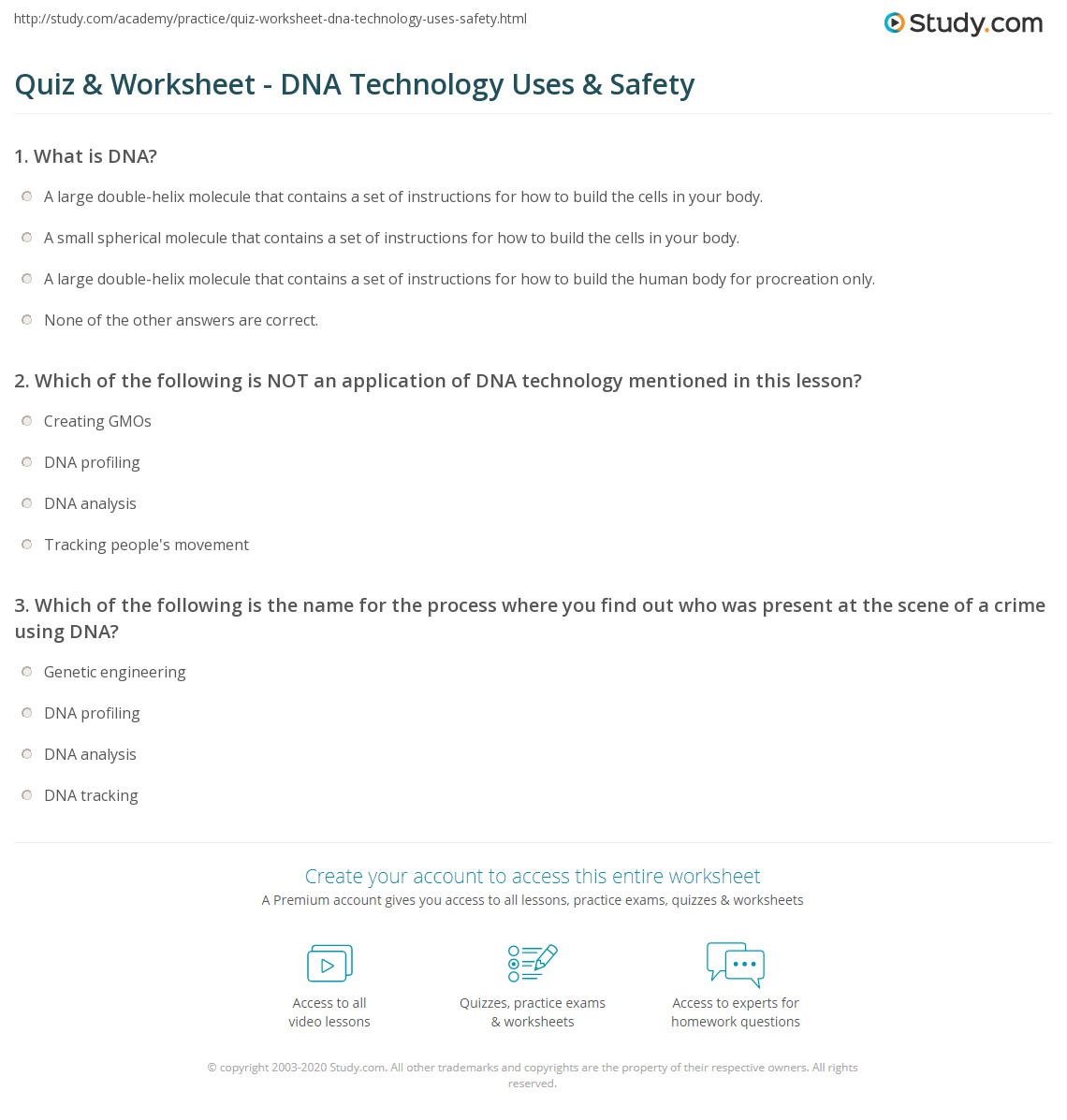 dna technology worksheet free worksheets library download and print worksheets free on. Black Bedroom Furniture Sets. Home Design Ideas