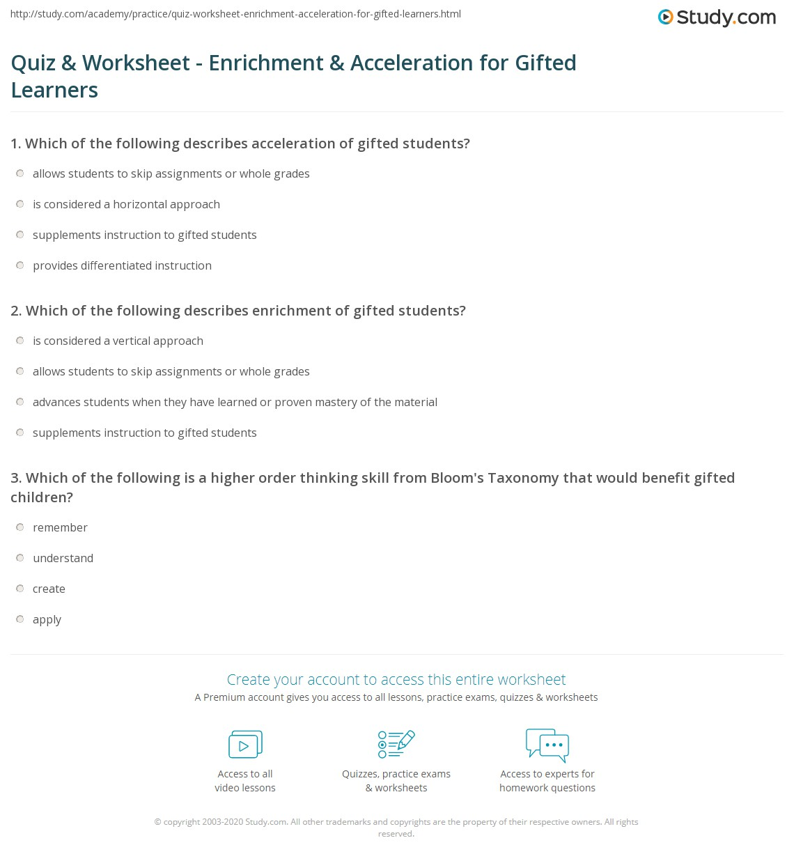 Printables Gifted And Talented Worksheets Joomsimple Thousands – Schoolexpress Math Worksheets