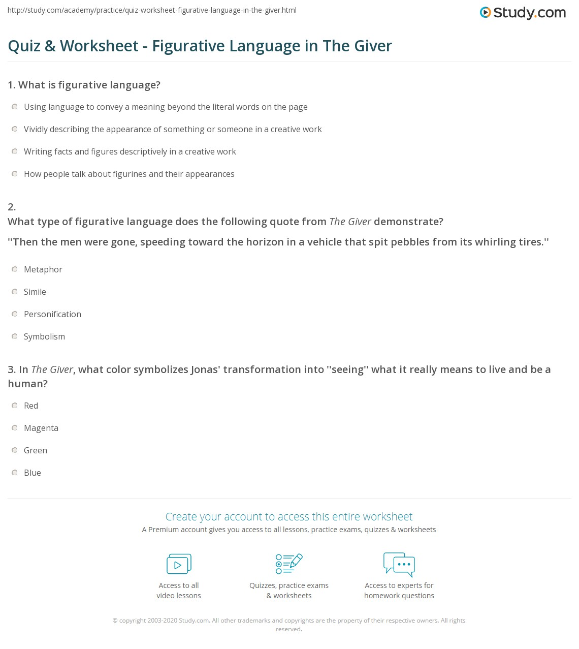 Free Worksheet Figurative Language Worksheets For Middle School – Figurative Language Worksheets for Middle School