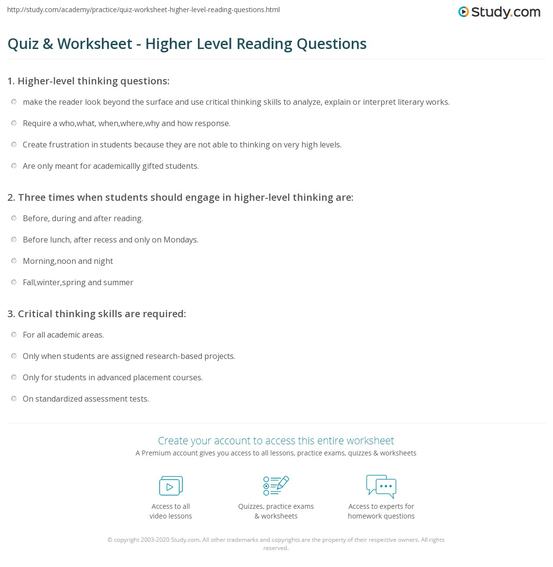 Worksheets Free Gifted And Talented Worksheets free gifted and talented worksheets vintagegrn quiz worksheet higher level reading questions study com