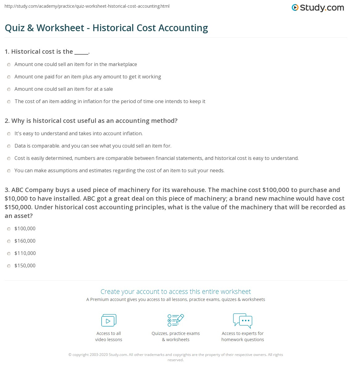 Worksheets Worksheet In Accounting Definition worksheet in accounting definition rupsucks printables worksheets quiz historical cost study com print method advantages