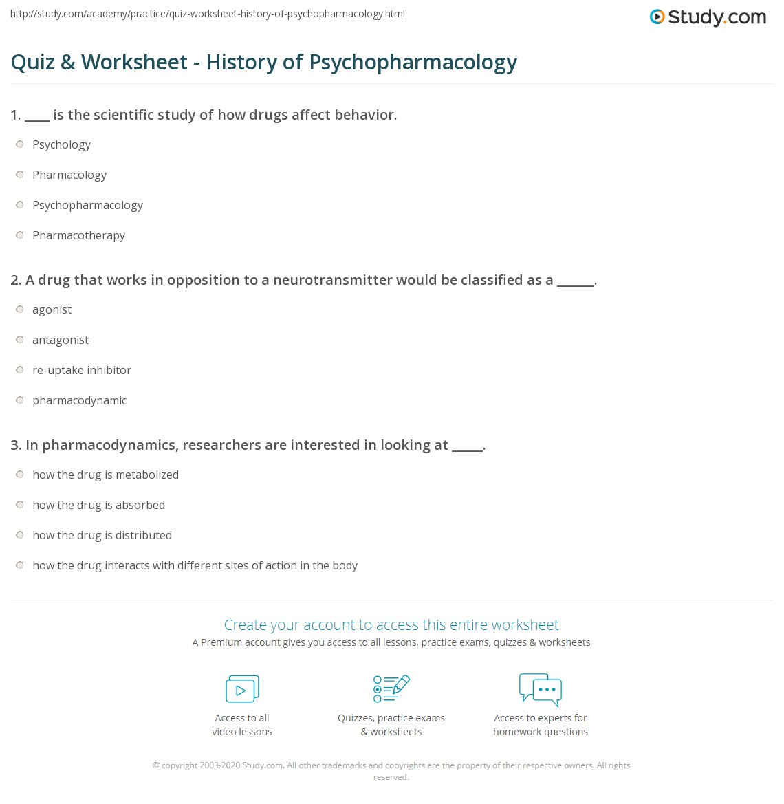 psychopharmacology worksheet Pcn 527 psychopharmacology and addictions entire course , get instant downloadable study guide material for pcn-527 grand canyon.