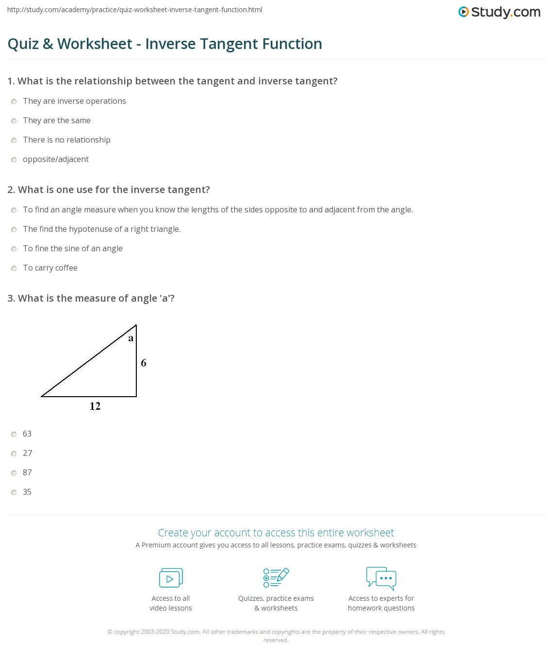 Worksheets Sine Cosine And Tangent Practice Worksheet Answers graphing tangent functions worksheet with answers intrepidpath the best and most