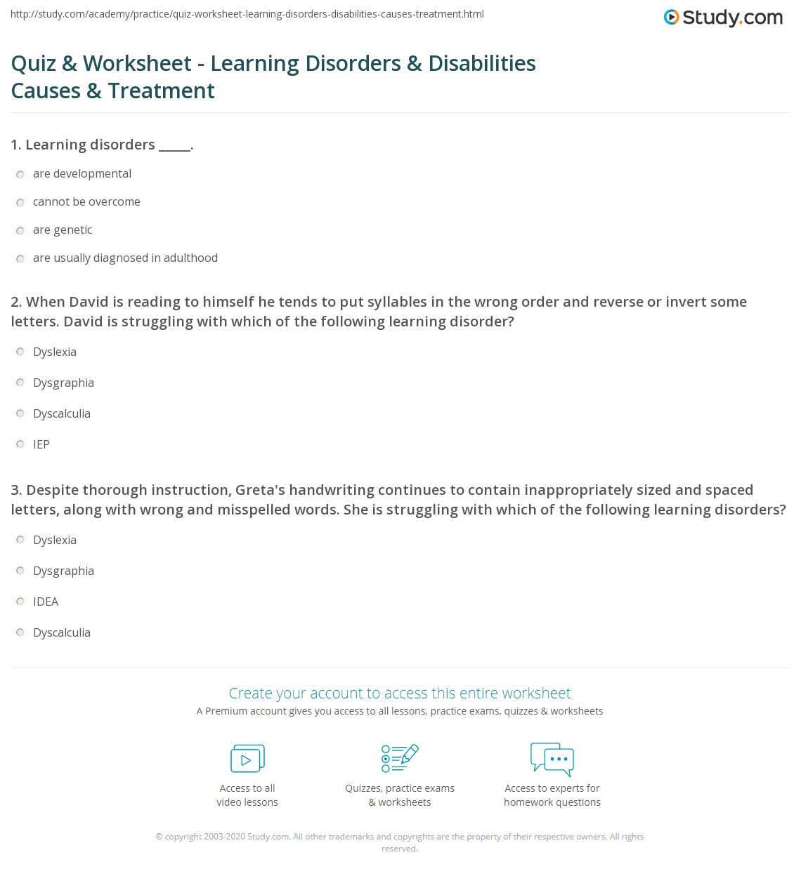 worksheet Snow Sports Merit Badge Worksheet act science practice worksheets abitlikethis learning disorders and disabilities definition causes treatment and
