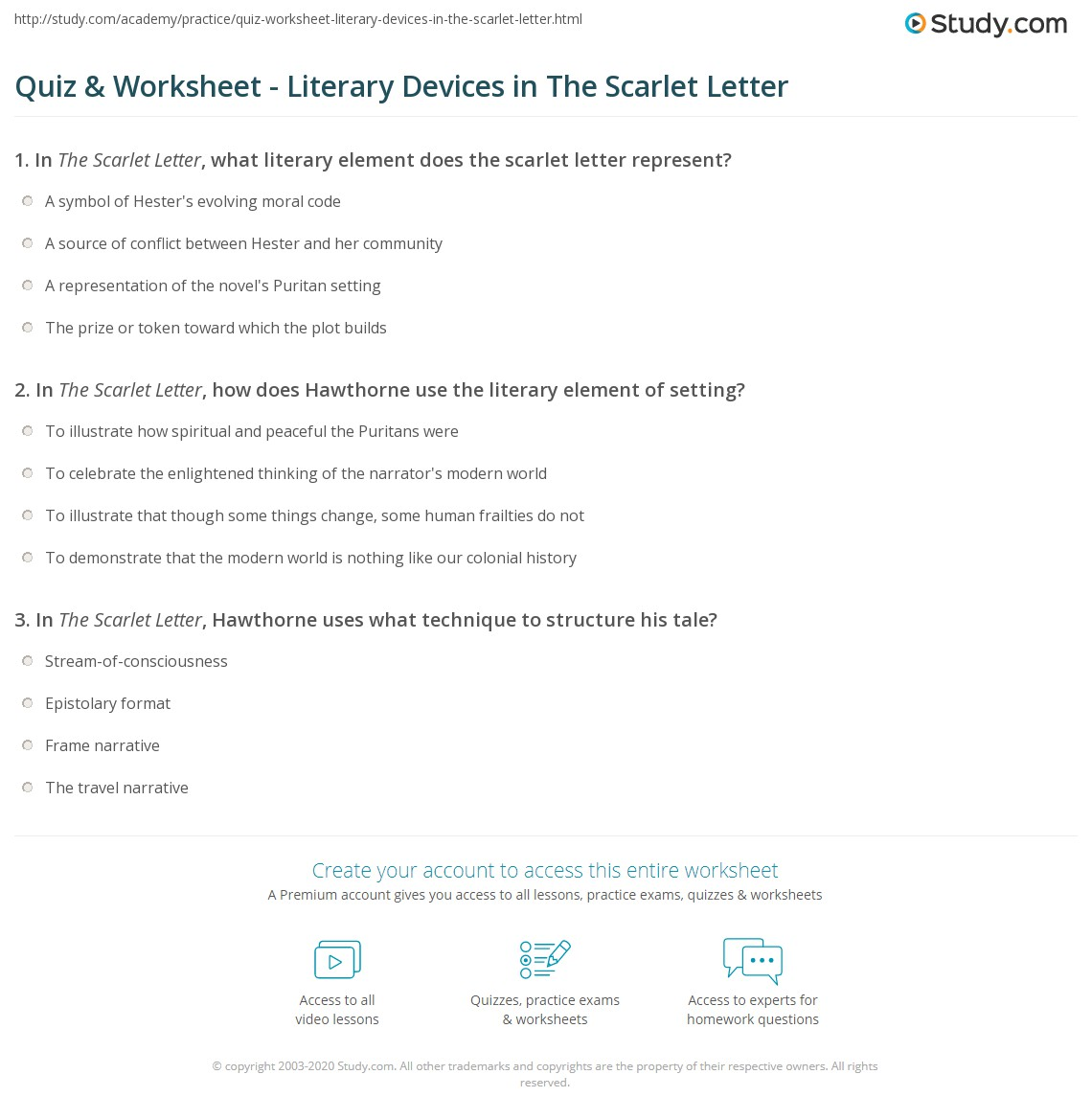 essay questions for the scarlet letter Answers to 60 short essay questions that require students to understand and interpret the scarlet letter.