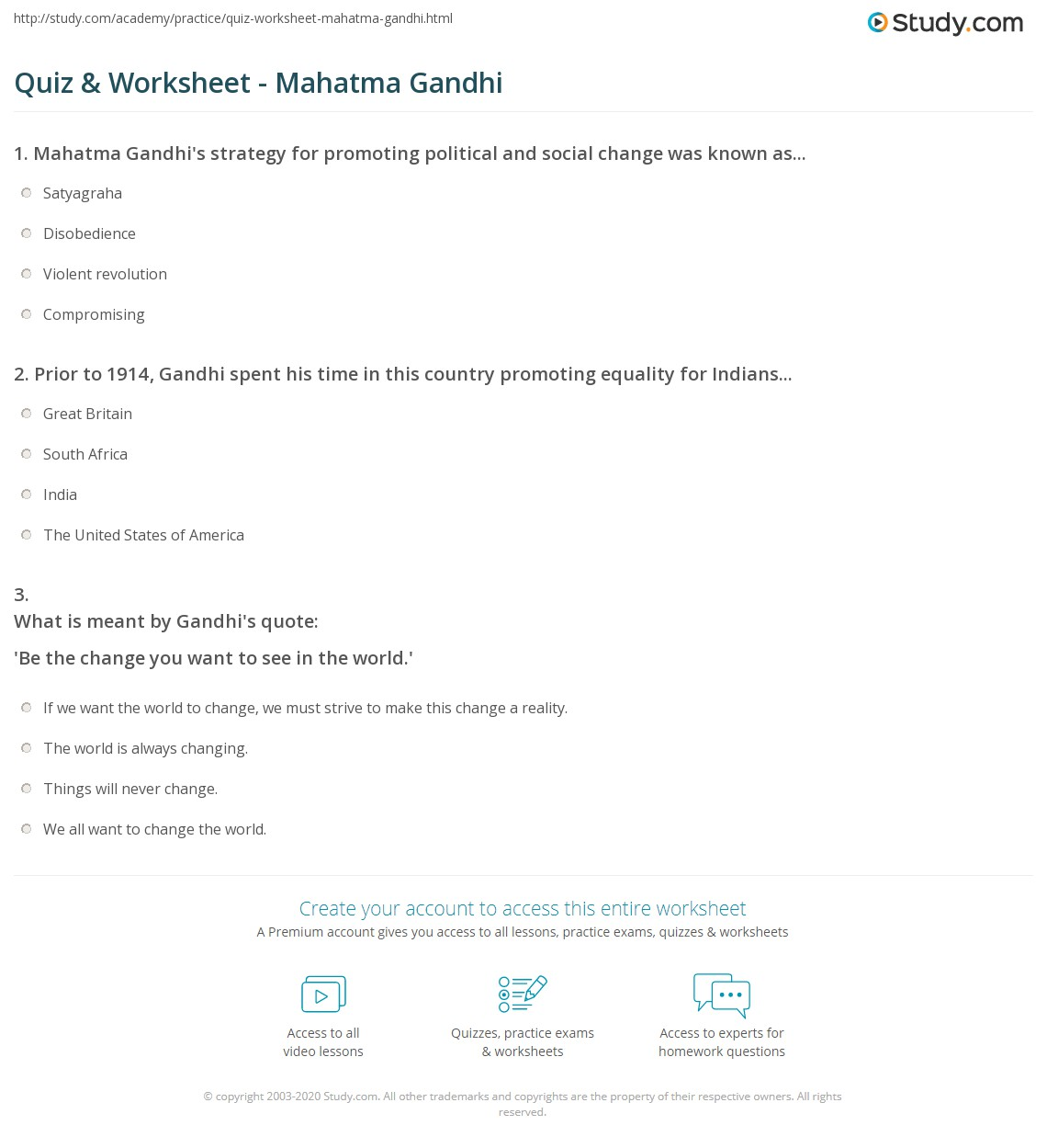 worksheet Gandhi Worksheet Fiercebad Worksheet And Essay Site – Gandhi Movie Worksheet