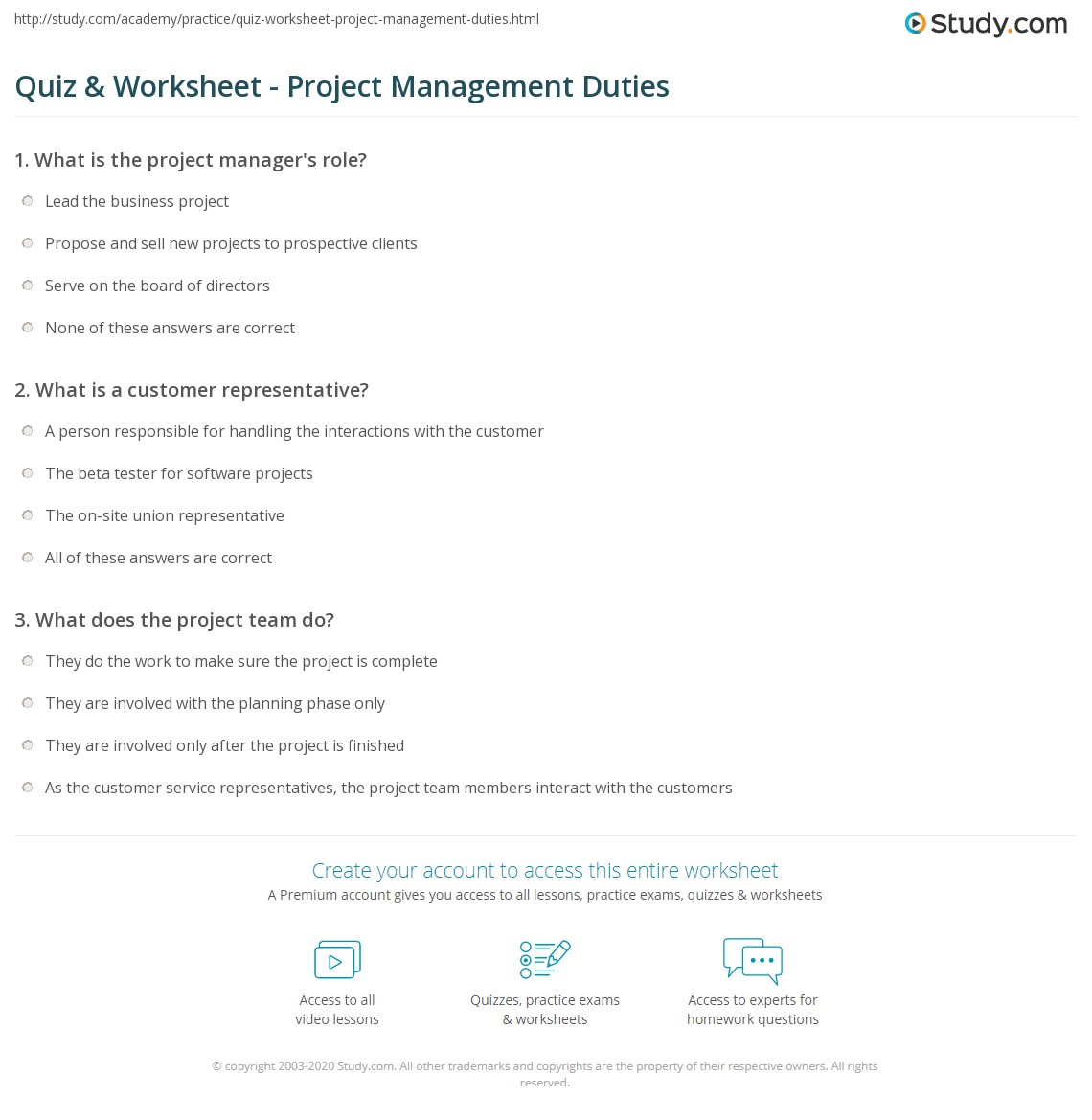 software project management quiz questions Test your skills with 3 full project management professional: pmp practice this practice exam will challenge your comprehension of the project management.