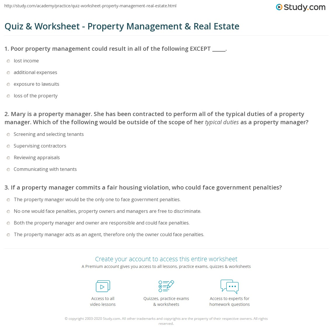 mary is a property manager she has been contracted to perform all of the typical duties of a property manager which of the following would be outside of - Real Estate Property Manager Job Description