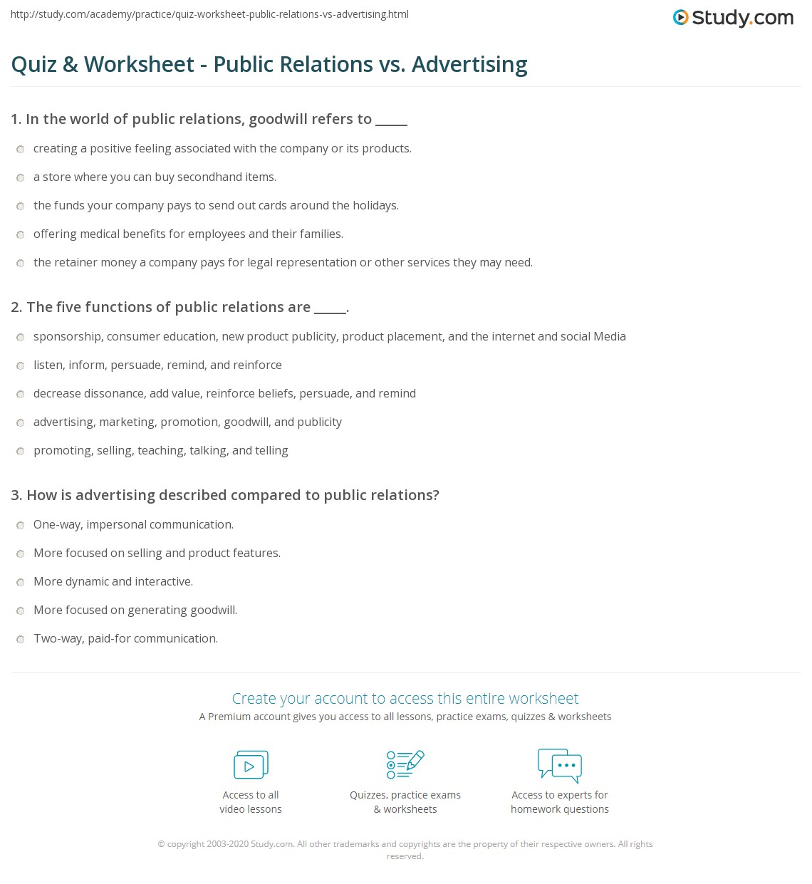 Advertising slogans worksheet