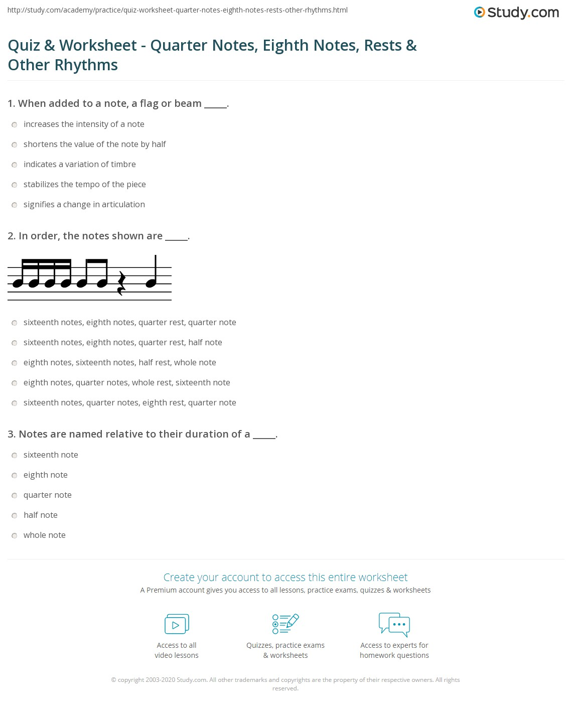 Uncategorized Note Values Worksheet quiz worksheet quarter notes eighth rests other print rhythm basic rhythms worksheet