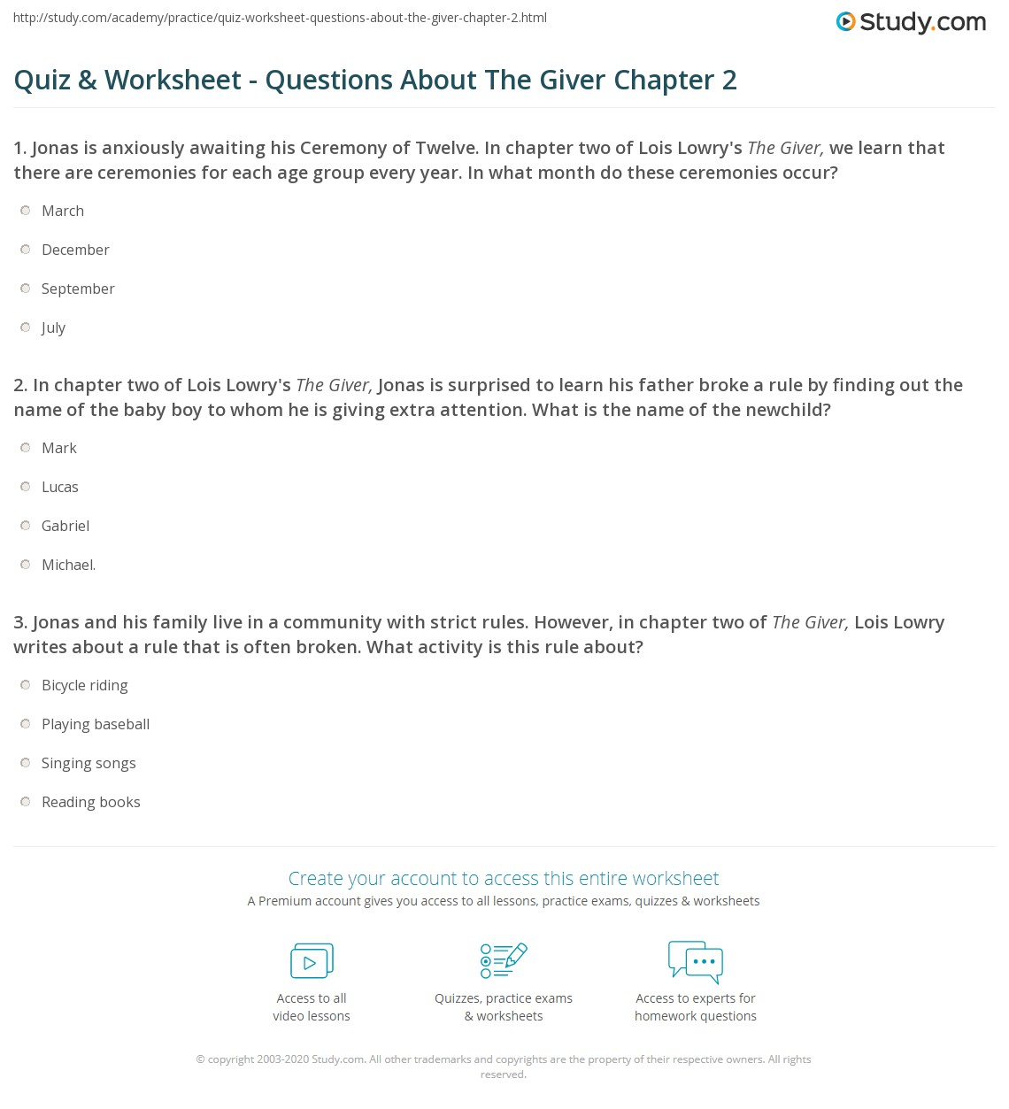 the giver book report A book's climax and its ending - two of the most important and memorable parts of its plot in this lesson, discuss these two elements and their.