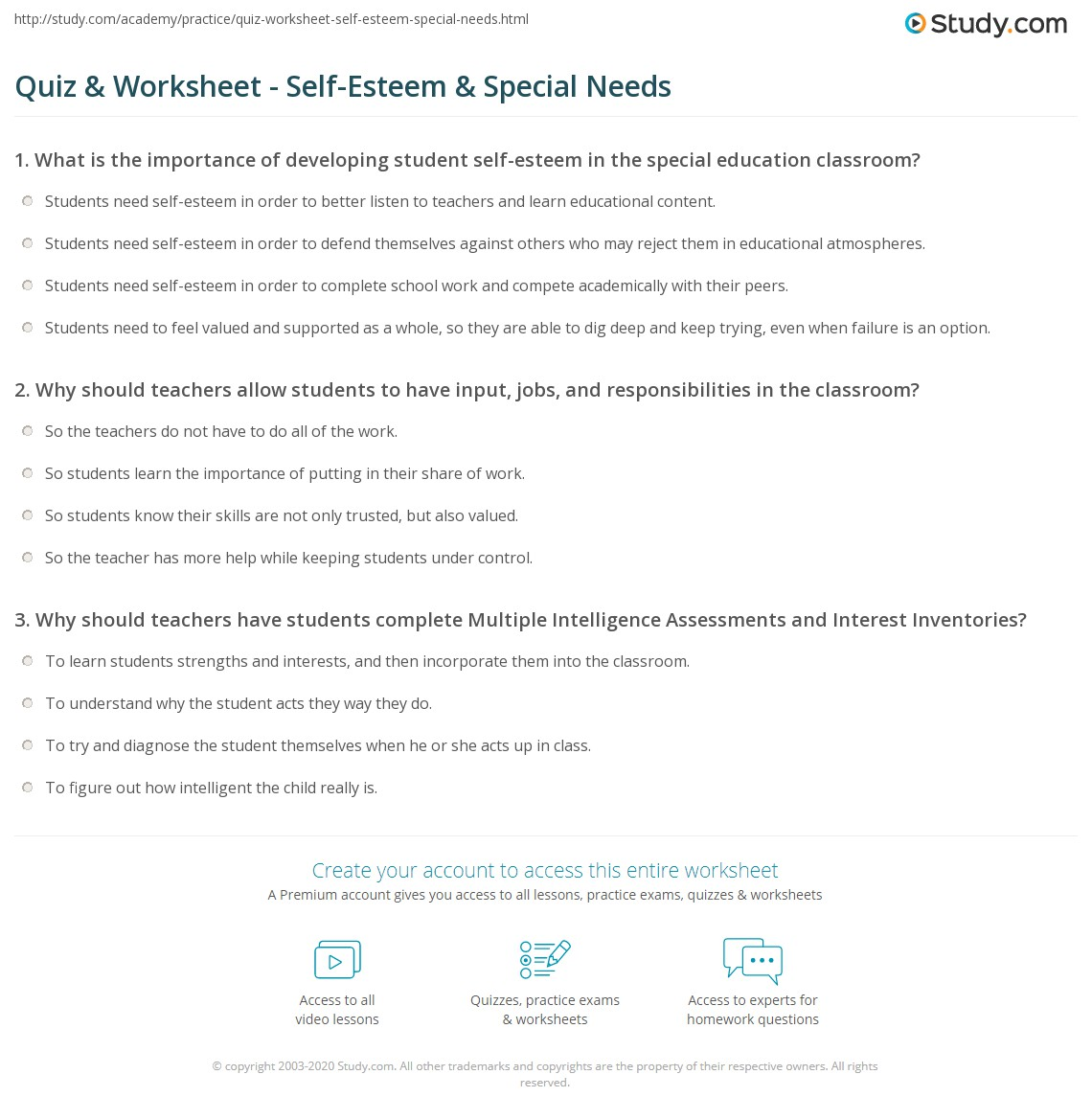 Functional Math Worksheets For Special Education Students – Math Worksheets for Special Education Students
